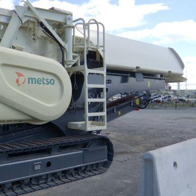 Murskain Metso Mineralsin Tampereen tehtaalla