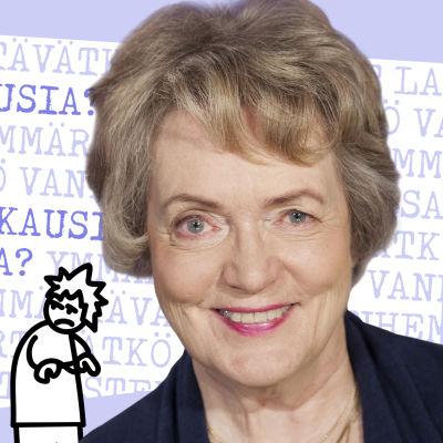 Kuvassa Liisa Keltikangas-Järvinen, joka pohtii artikkelissa miten hyvin vanhemmat tuntevat lasten kehityskausia