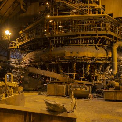SSAB:n Raahen tehtaan masuuni 2