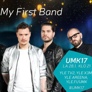 UMK17-kilpailija My First Band