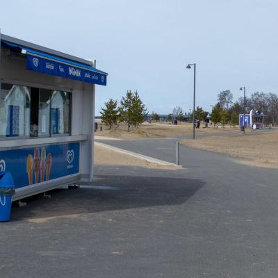 jäätelökioskit Nallikarissa, Oulussa