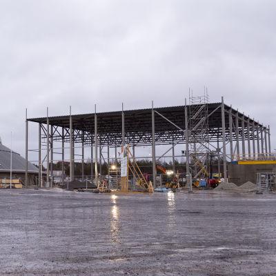 Ouluhallin lisärakennus