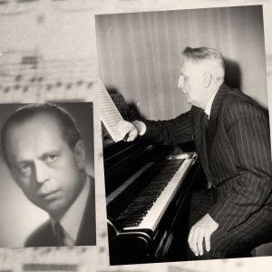Kuvissa Meri Louhos, Rolf Bergroth ja Ernst Linko.