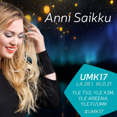 UMK17-kilpailija Anni Saikku