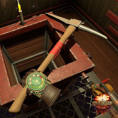 MeKiwin virtuaalitodellisuus peli Cave Digger