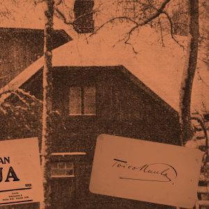 Huvila, jossa Alma ja Toivo Kuula asuivat Säiniöllä keväällä 1918.