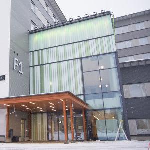 Kainuun uusi keskussairaala.