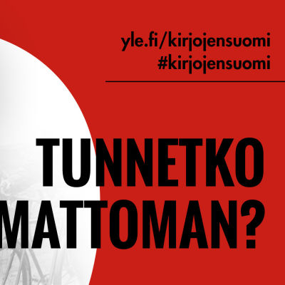 Väinö Linnan Tuntematon sotilas -kirjan kantta mukaileva puna-valkoinen kuva, tekstinä Tunnetko Tuntemattoman.