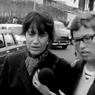 Kerstin Hanf haastattelee Joan Jaraa (1973).