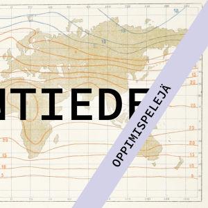 kuvituskuva abitreenien artikkeliin jossa maantieteen pelisivuja