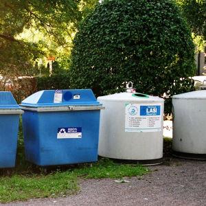 Kierrätysastioita