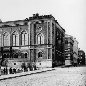 Helsingin Kruunuhaassa sijaitseva valtiopäivärakennus Ritarihuone
