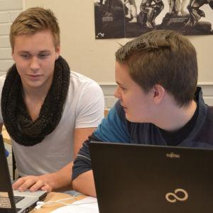 Otto Ojala, Joackim Laakkonen ja Mikael Lehtonen