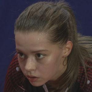 Bordtennisspelaren Annika Lundström