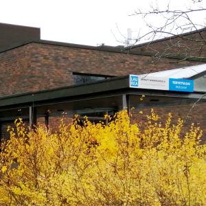 Fasaden till yrkeshögskolan Laurea.