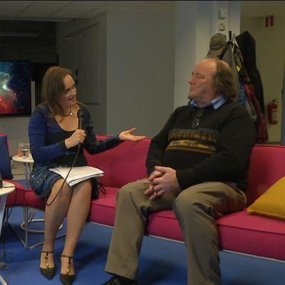 biolog anders albrecht intervjuas i kvanthopp.