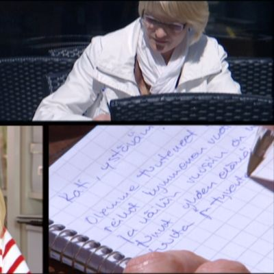 Tuhkimotarinoiden Kati sai kirjeen.