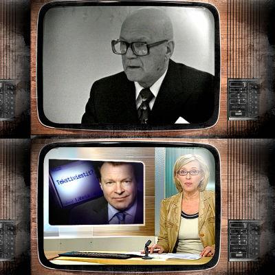 Uutisaiheita eri vuosikymmenillä.