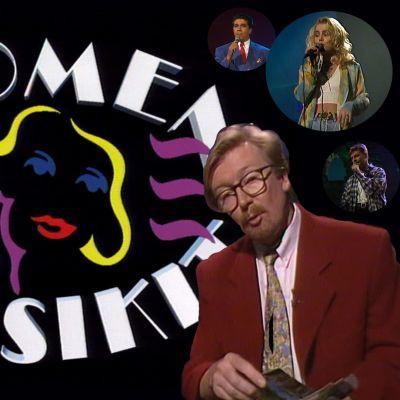 Suomen suosikit olivat 1990-luvun alussa kirjava kattaus artisteja. Ohjelmasarjaa juonsi kapellimestari Olli Ahvenlahti.
