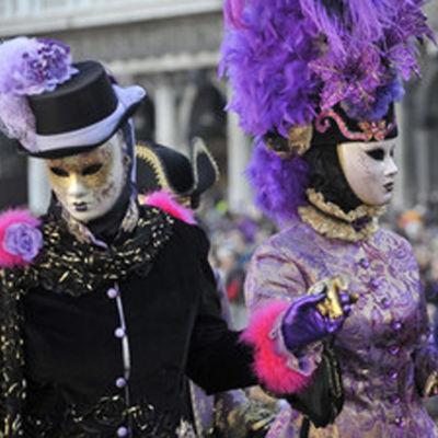 Venetsian karnevaali.