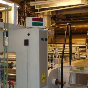 Nedmontering av kalander för folietillverkning