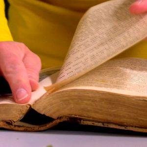 Sidor rivs ut ur bok