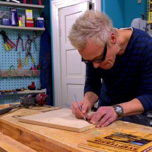 Jim ritar början på svepasken