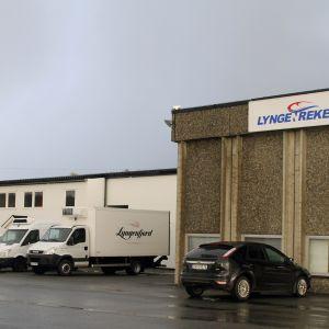 Lyngen Rekers fabrik i Nordnorge