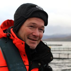 Regionaldirektör Jan Børre Johansen på Lerøy Aurora