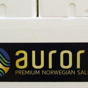 Lerøy Auroras laxslakteri i Skjervøy