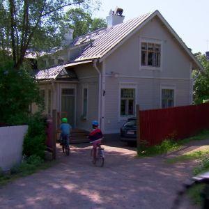 Familjen Bahnes hus i Pargas.