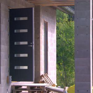 Detalj från Marias och Peters hus i Malax.
