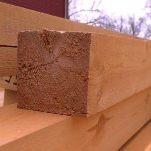 Bra virke är utgångsläget i varje bygge.