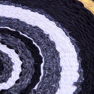Den färdiga mattan har otaliga användningsmöjligheter
