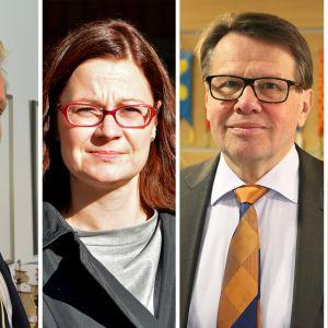 Jarkko Virtanen, Minna Arve, Kari Häkämies, Ville Itälä.
