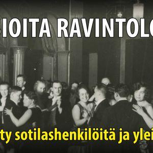 Tanssit ravintola Fenniassa