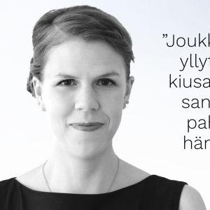 Toimittaja Julia Thurén