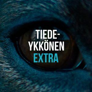 eläimen silmä ja päällä teksti Tiedeykkönen extra
