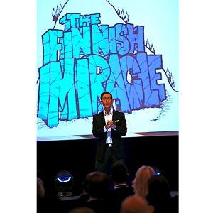 André Noël Chaker esittelee kirjansa The Finnish Miracle - Ihanuuksien ihmemaa (2011) ajatusmaailmaa.
