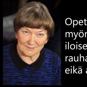 Rauhanneuvottelija Hussein al-Taeen opettaja Maija Istolainen vieraana tv-ohjelmassa Flinkkilä & Tastula.