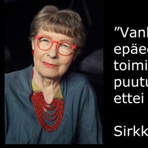 Lääkäri Sirkka-Liisa Kivelä vieraana tv-ohjelmassa Flinkkilä & Tastula.