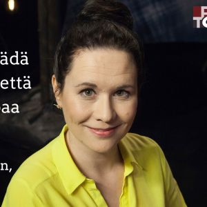 Yrittäjä Maija Itkonen vieraana tv-ohjelmassa Flinkkilä & Tastula.