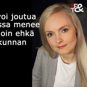 Köyhyystutkija Maria Ohisalo vieraana tv-ohjelmassa Flinkkilä & Tastula.