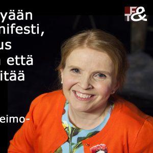 Jenni-Juulia Wallinheimo-Heimosen sitaatti ohjelmassa Flinkkilä & Tastula.