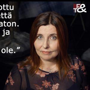 Terhi Vanhan sitaatti tv-ohjelmassa Flinkkilä & Tastula.