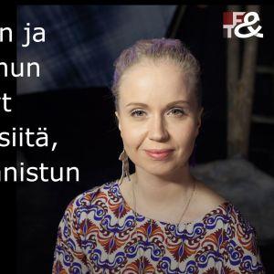 Kaisa Kortesoja vieraana ohjelmassa Flinkkilä & Tastula.