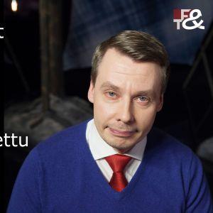 Tuomas Kurttila vieraana tv-ohjelmassa Flinkkilä & Tastula.