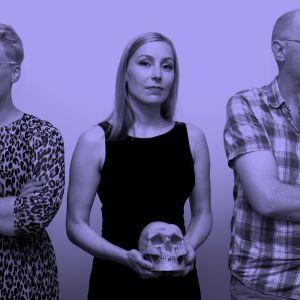 Emmi Valve, Viivi Rintanen ja Matti Hagelberg KulttuuriCocktailissa.