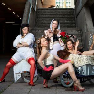 Feministinen Verta, pornoa ja propagandaa, JUMALAUTA! -kansanmusiikkikonserttisarjan tekijät