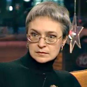 Toimittaja Anna Politkovskaja Aamu-tv:ssä